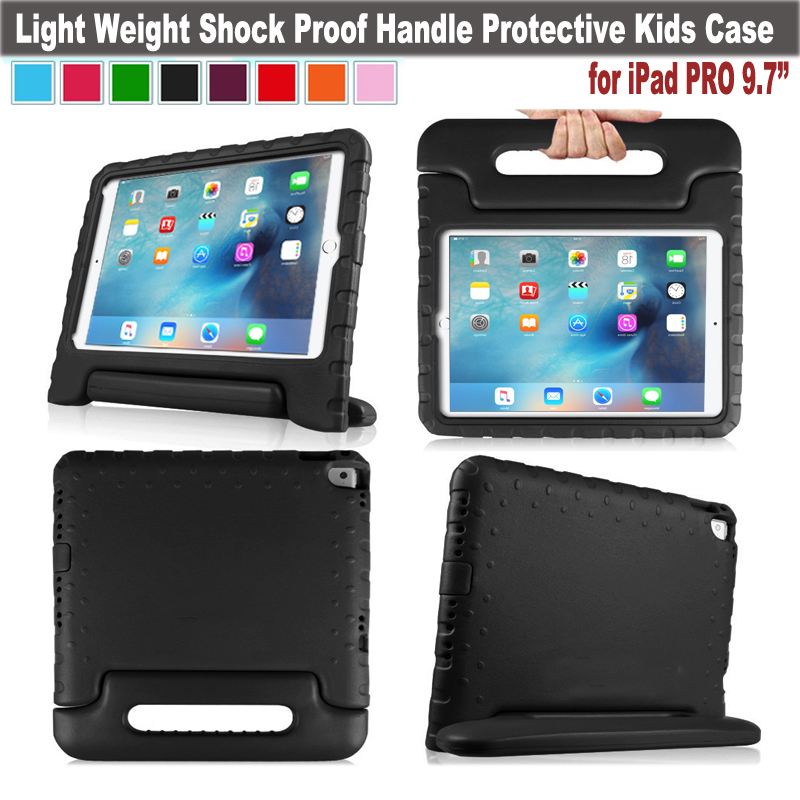 EVA Shockproof Case Light Weight Kids Case Super Protection Cover Handle Stand Case For Apple iPad Pro 9.7 Tablet