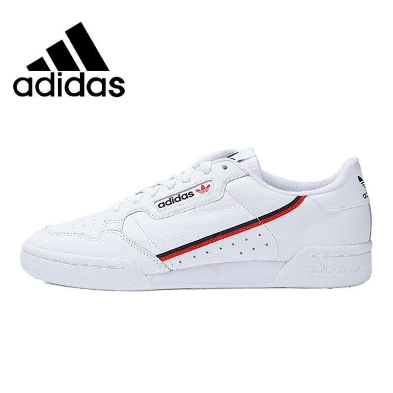 Autêntico e Original Da Marca Adidas Continental de Skate Skate Sapatos Malandro Malandro 80 SneakersBreathable Hard-Wearing B41672