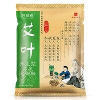 Artemisia argyi bubble voet poeder voetenbad poeder wassen voeten 8g * 100 pakketten