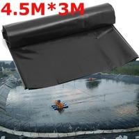 Delineador impermeable de 0 2mm  revestimiento para estanque de peces  revestimiento para piscinas para jardín reforzado con HDPE  garantía pesada para paisajismo  estanque de piscina 4.5X3M|Recubrimientos para estanques|Hogar y jardín -