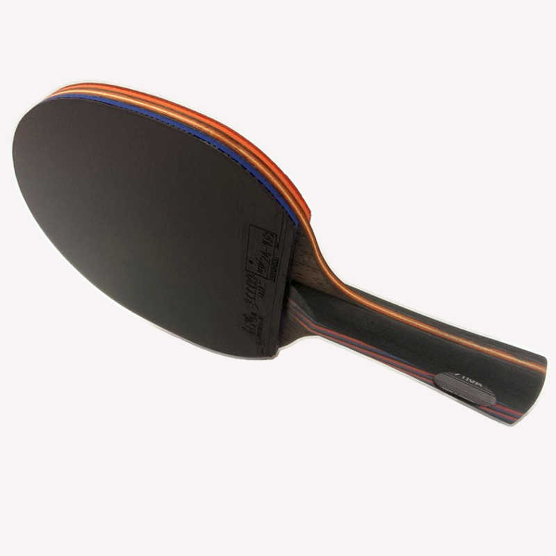 Raqueta de tenis Lemuria DIY WRB 7,6 de fibra de carbono, raqueta de tenis de doble cara, tenis de mesa de goma FL o CS, raqueta de ping pong