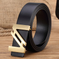 Designer belts Men High Quality Genuine Leather Brand Belt Brass Letter Buckle Mens Belts Luxury Men Belt Ceinture Homme MBT0302