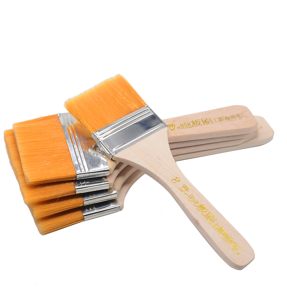 Nylon Hair Painting Brush Oil Watercolor Water Powder Propylene Acrylic Differeent Size Paint Brushes School Art Supply