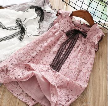 YP1839036 2018 Summer Baby Girl Dress Lace Party Girls Princess Dress Fashion Girls Dress Girls Clothes Birthday Holiday