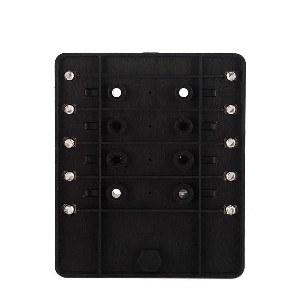 medium resolution of  10 way blade fuse box holder fuse blocks red led indicator 10pcs fuses 10pcs terminals for
