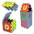 36 ШТ. Baby Дети Буквенно-Цифровые Образовательные Головоломка Младенческой Детские Игрушки Подарок Цифровой Алфавит Пузырь Головоломки Коврики