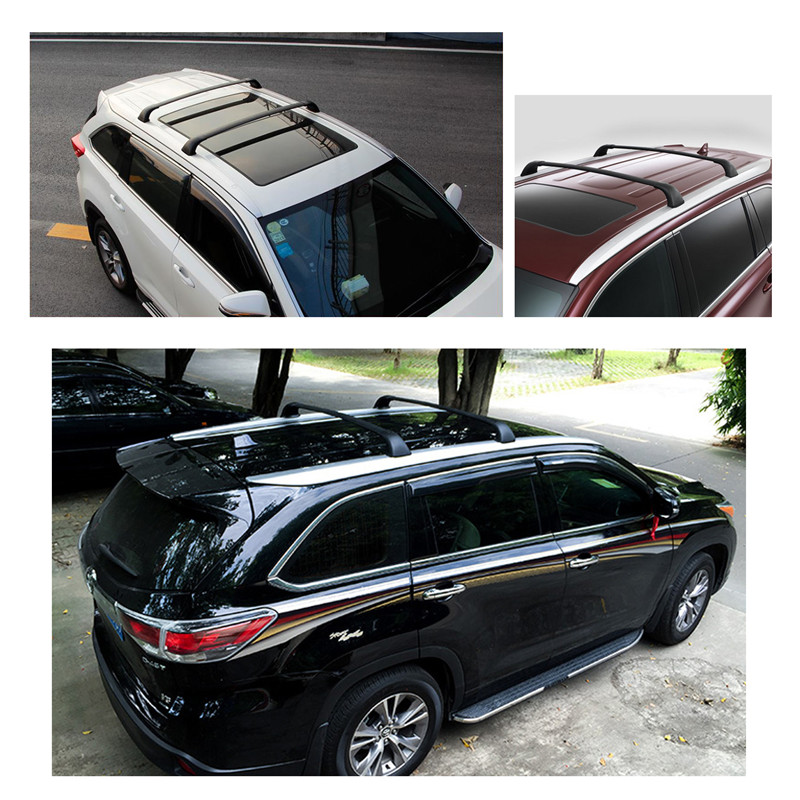 Auxmart Car Roof Rack For Toyota Highlander XLE 2014 2016 Roof Rack Cross  Bars 122.5cm 165LBS Load Box Cargo Luggage Carrier  In Underwear From  Mother ...