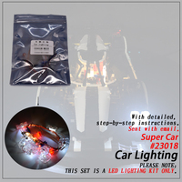 Led Light Set (only light included ) For legoings MOC 5530 Super Car Compatible 23018 Technic Building Blocks Bricks