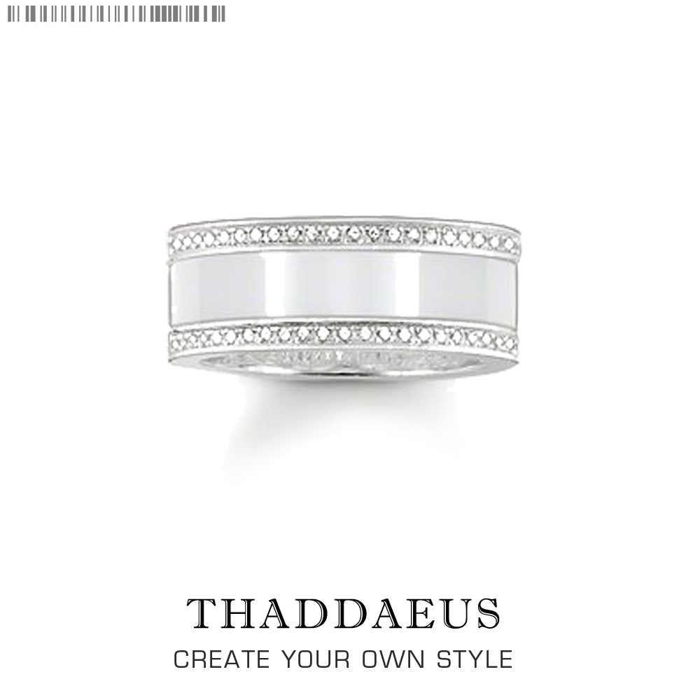 Timeless Glamour แหวน, Thomas สไตล์ Glam แฟชั่นดีเครื่องประดับสำหรับบุรุษและสตรี, 2017 Ts ของขวัญ 925 เงินสเตอร์ลิง, Super Deals