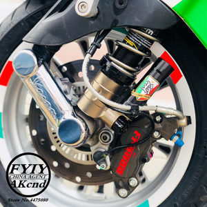 Image 3 - Motorcycle shock absorber rear ahock absorbre For piaggio vespa GTS 300 GTV 300 Front shock absorber