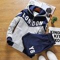 Envío libre 2017 la primavera y el otoño hombre hoodies clothing sudaderas casuales hombres de ropa deportiva chándal traje de los hombres