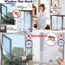 Anti-Insect Fly Bug Mosquito Door Window Curtain Net Mesh Screen Protector Cool insect mosquito self adhesive window mesh door curtain