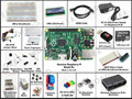 Raspberry Pi Model B plus Starter Pack Starter kit - breadboard/pi black case/1602 LCD/WIFI adapter/step motor/8GB micro SD