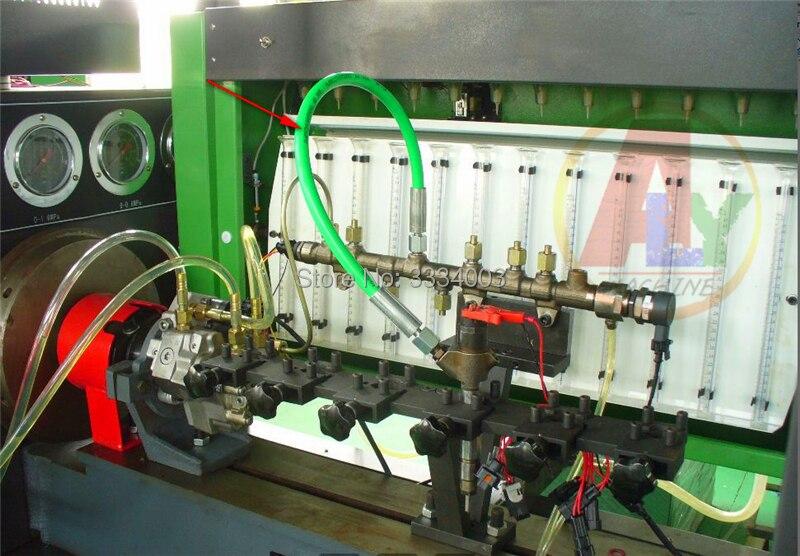 Livraison gratuite tuyau de tube à rampe commune diesel haute pression 2600bar 65 cm pour banc d'essai de pompe à injecteur à rampe commune, avec cadeau gratuit!!