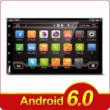 2 Din Android 6.0 de Radio Del Coche DVD de 6.95 pulgadas Universal Para Nissan Navegación GPS