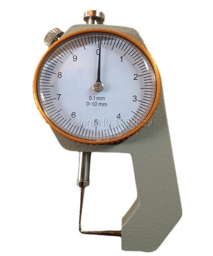 Dental Lab Caliper With Watch Measuring Thickness Metal Watch Showing Thickness Gauge precision 0-10*0.1mm measuring instrument thickness gauge deep throat measuring caliper 0 10 120mm depth
