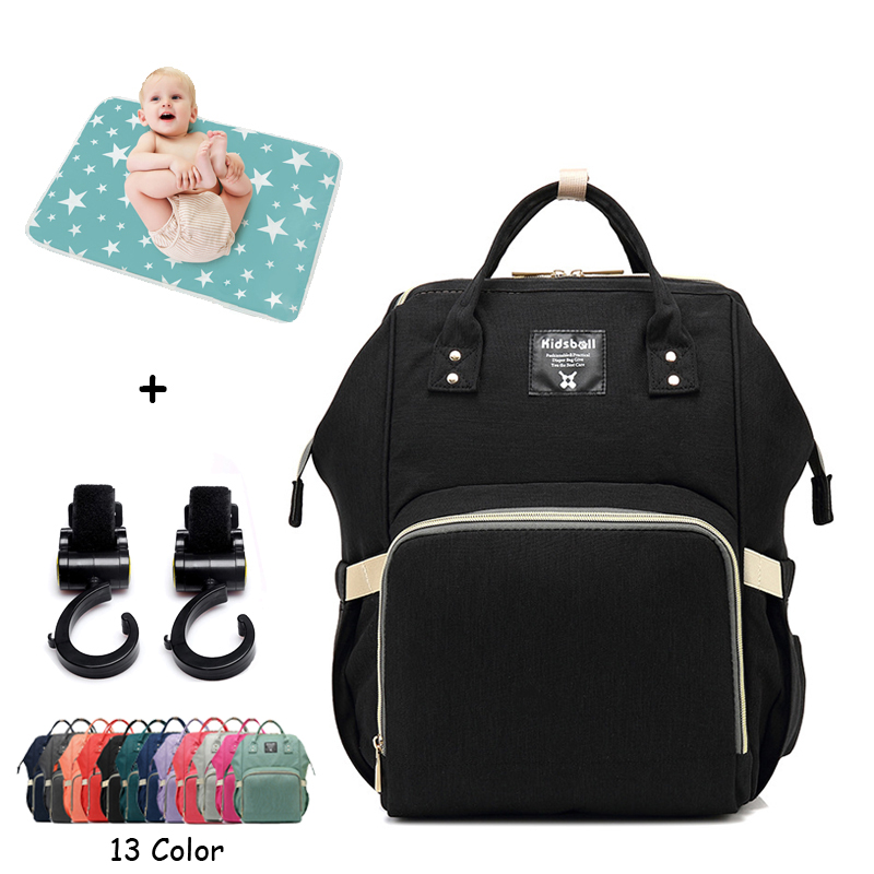 Lager Capacity Mummy Multifunction Waterproof Diaper Bag Nappy mommy Backpack Travel Double shoulder Backpack Baby