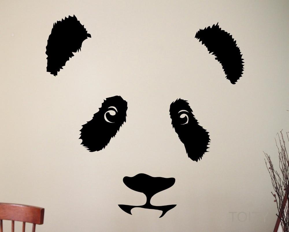 online get cheap kids bedroom design aliexpress com alibaba group panda wall decal cute animal vinyl sticker nursery decor home room interior design art murals for children kids bedroom