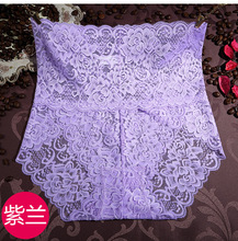 Free Shipping The new ladies underwear Bamboo fiber lace pure color women's underwear #7165