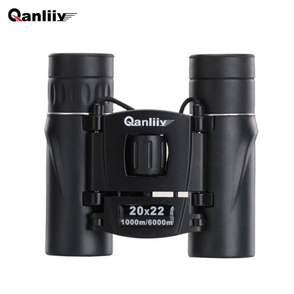 Prix pour Teyeleec 20x22 Mini Dual Focus Compact Jumelles Télescope de poche pour L'observation Des Oiseaux un Paysage de La Faune
