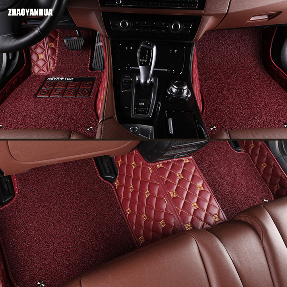 Aliexpress com buy special 100 fit car floor mats for toyota camry corolla prius prado highlander sienna zelas all weather car styling liners from