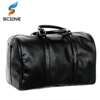 2017 Hot Large Capacity Female Classic Soft Leather Handbag Top Quality PU Shoulder Bag Men Travel