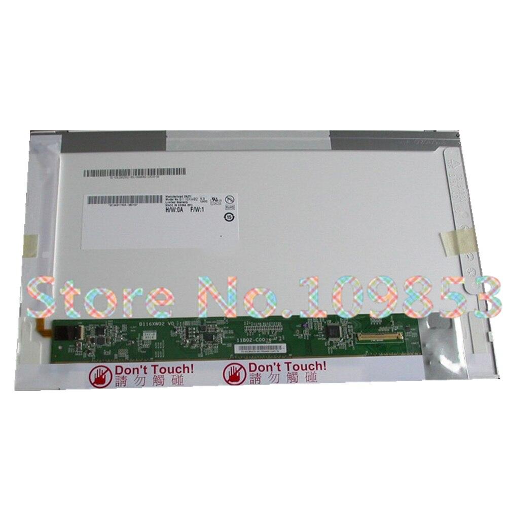 11.6'' Laptop lcd screen matrix For Lenovo Thinkpad X100E X100 E10 X120e B116XW02 N116B6 L02