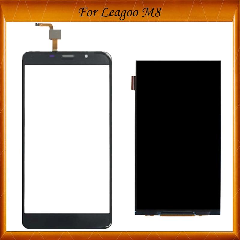 100% arbeiten Gut Für Leagoo M8 LCD Display und Touch Screen 5,7 zoll Ersatz Telefon Zubehör Für Leagoo m8