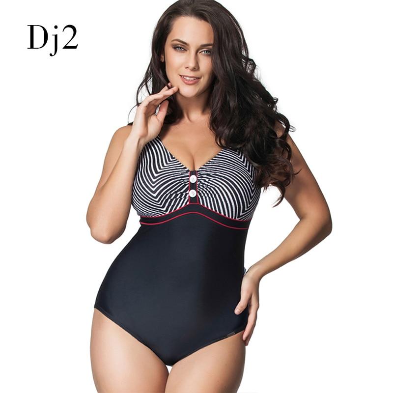 Hot Sale Plus Size Swimwear Swimming Suit For Women Zebra Striped Printed One Piece Swimsuit Sexy Plus Size Beach Bodysuits