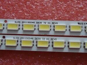 Image 2 - 2 pezzi/lotto PER TCL L46E5200 3D Articolo lampada LJ64 03035A schermo LTA460HQ12 1 pezzo = 72LED 520 MILLIMETRI 100% NUOVO