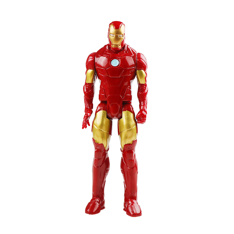 30 см Marvel Мстители игрушки танос Халк Бастер человек паук Железный человек Капитан Америка Тор Росомаха Черная пантера фигурка куклы - Цвет: iranman no box