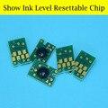 16 Peças/lote Mostrar o Nível de Tinta Chip Do Cartucho Reajustável Para Epson 4880 Cartucho De Tinta T6051 T6061 T606 T605