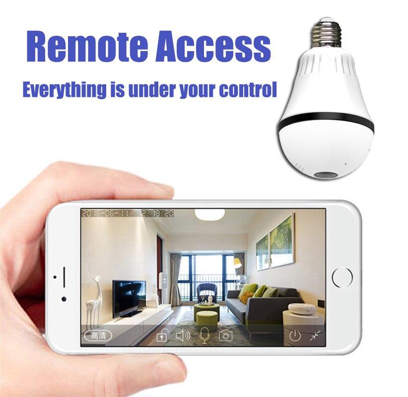Lintratek 960 P 360 градусов Wi-Fi лампы VR панорамный Камера E27 светодиодный свет Беспроводной безопасности дома дверной Звонок IP Камера мини CCTV