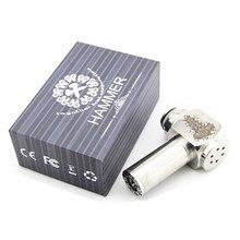 บุหรี่อิเล็กทรอนิกส์ค้อนMod vaporizer Eท่อModsกลพอควรสำหรับTTYขนนกผ้าคลุมRBAเครื่องฉีดน้ำvapeสมัยecig vaperizer