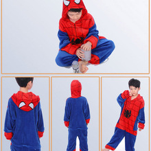 Unicorn Pajamas for Boy Girl set Kigurumi Children Sleepwear Flannel Cartoon Animal Cosplay Baby Kids Onesies 4-12T