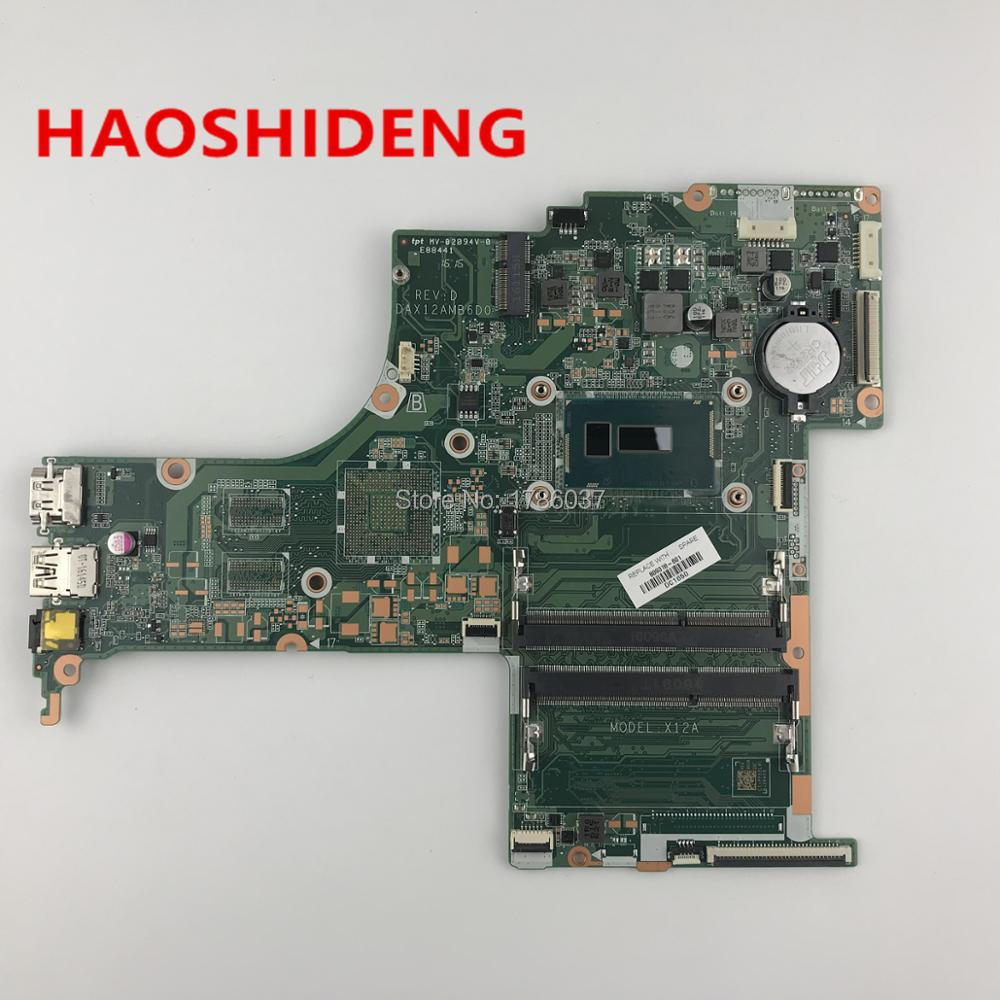 809318-601 X12A For HP Pavilion Notebook 17-G Laptop Motherboard with i5-5200U CPU DAX12AMB6D0,All functions fully Tested!