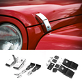 Für Jeep Wrangker Haube Lock Latch mit Schlüssel Motor Cover Lock Haube Pin für Jeep Wrangler JK|engine cover|jeep wranglerlock pin -