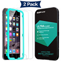Screen Protector for iPhone 7/7 Plus, ESR 2 Pack Triple Strength Tempered Glass Protector with Free Applicator for iPhone7 7Plus