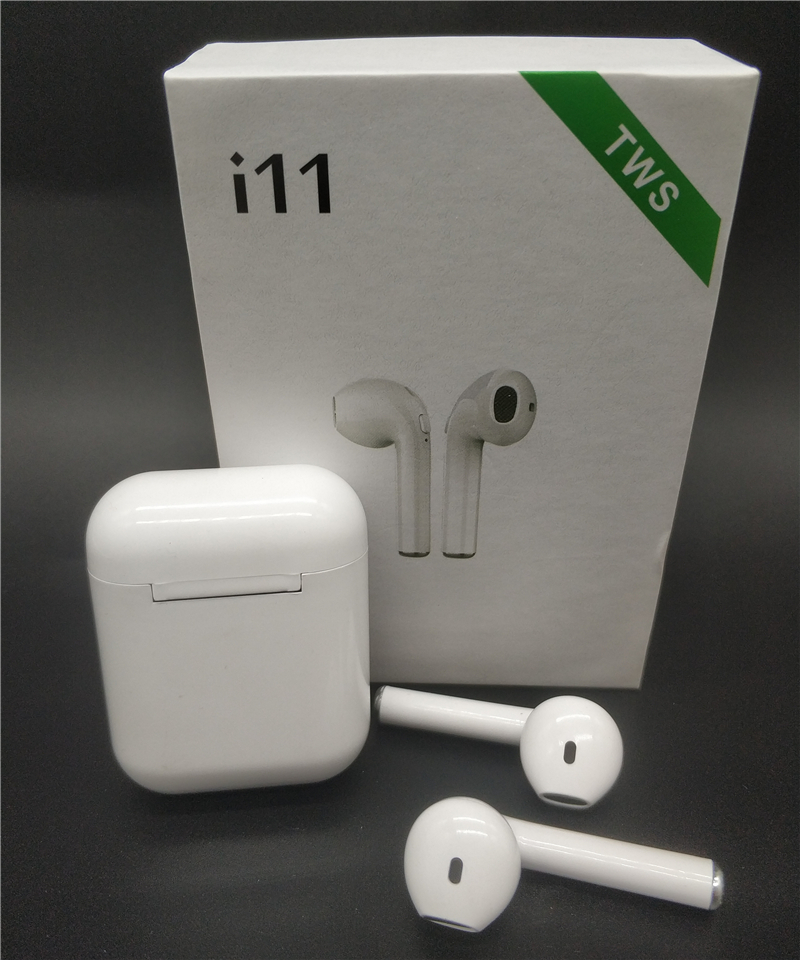 i11 <font><b>TWS</b></font> Wireless Bluetooth Earphones Mini Earbuds Headsets For iphone 8 xs Huawei LG Samsung S6 S8 Xiaomi <font><b>5</b></font> 6 7 8 Note 8 10 image