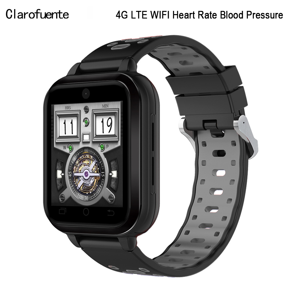 1 54 New Smart Watch Android 2G 3G 4G LTE Phone IP67 SIM WIFI Camera GPS  Heart Rate Blood Monitor Smartwatch for Men Women Kids
