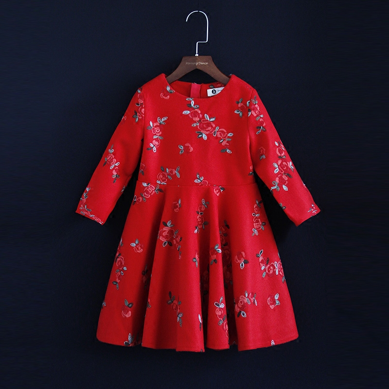 Winter fashion Family Matching outfits baby girl Clothes long sleeves formal dress family look Mother and Daughter party Dresses