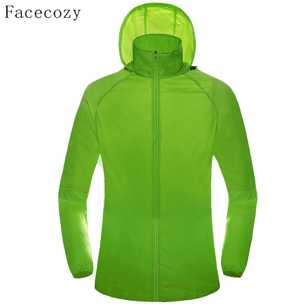 Facecozy Men Women Spring Outdoor Hooded Shirt Quick Dry Camping Shirts Breathable Thin font b Fishing