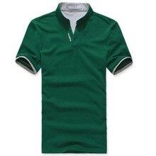 """""""Solid Color"""" klasikinis marškinėlių vyrų apatinis trumpų rankovių pluošto dydis"""