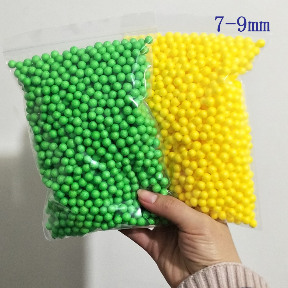 13g 7-9mm 13000pcs DIY Snow Mud Particles Accessories Slime Balls Small Tiny Foam Beads For Floam Filler For DIY Supplies