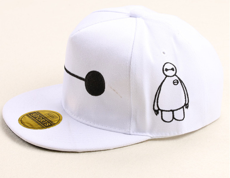 c06589fce48 New Arrival Famous Movies Big Hero 6 Baymax Gorras Snapback Caps Hip Hop  Baseball Cap Hats For Gift-in Baseball Caps from Apparel Accessories on ...
