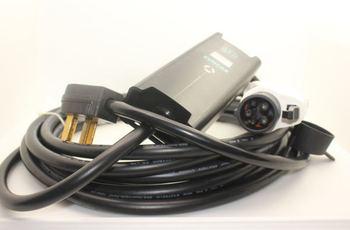 NEMA plugue SAE 14-50 J1772 Ajustável 32A 24 20 16 10 Modo 2 EVSE Portátil cabo de 7.5M doméstica plugue carregador de casa carregador EV Volt