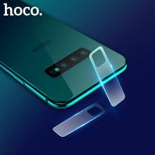 HOCO 2pcs Transparent Camera Lens flexible Tempered Glass For Samsung Galaxy 10/S10+ S10e Back Cover Screen Protector Film