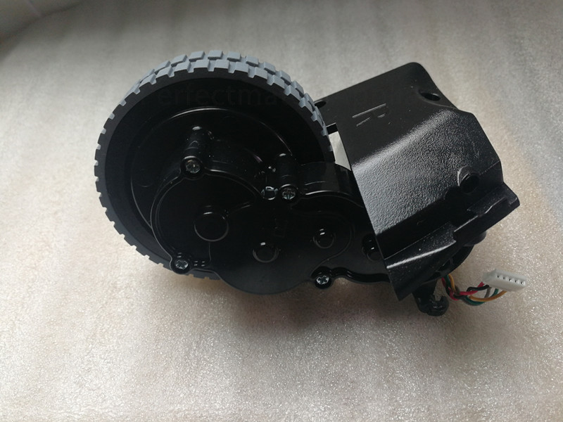 Original vacuum cleaner Right wheel for ilife A6 ilife X623 x620 robot vacuum cleaner wheel motor replacement accessories original left wheel with motor for robot vacuum cleaner ilife a6 ilife x623 robot vacuum cleaner parts wheel motor replacement