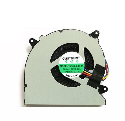 SSEA Nova Fan CPU para ASUS N550 N550J N550JA N550JK N550JV N750JV N550JV-DB71 Q550LF N750 N750JK N550L MF60070V1-C180-S9A