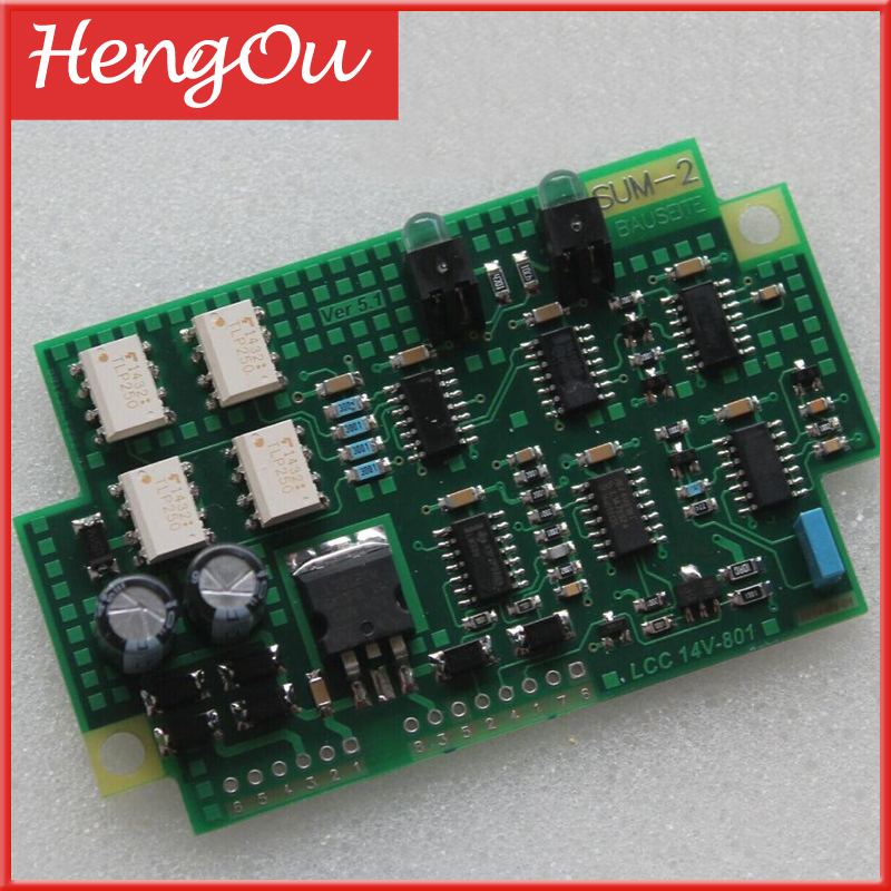 1 piece free shipping 61.110.1341/01 SUM2 circuit board for Hengoucn printing machine spare part replacement part1 piece free shipping 61.110.1341/01 SUM2 circuit board for Hengoucn printing machine spare part replacement part